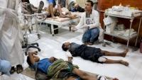 التحالف والحوثيون يتبادلان الاتهام حول قصف سوق شعبية بصعدة
