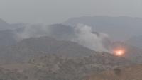 عملية للجيش الوطني تفجر مخزن أسلحة للحوثيين في صعدة