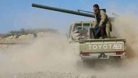 معارك عنيفة بين قوات الجيش والحوثيين شمالي الضالع
