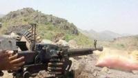 تجدد المواجهات بين الحوثيين والمقاومة الشعبية غربي الضالع
