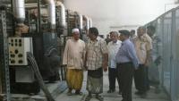 المجلس الانتقالي يوقف وقود كهرباء ساحل حضرموت