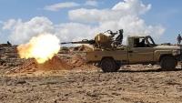 قوات الجيش تحبط هجوما للحوثيين على مديرية مقبنة غرب تعز