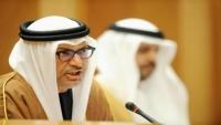 قرقاش: مصالح السعودية والإمارات واحدة