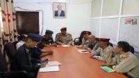 اللجنة الأمنية بتعز توجه بوقف الإعتداء على الأراضي العامة والخاصة