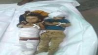 مقتل طفلين بقصف حوثي استهدف أحياء سكنية في تعز
