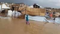 موت ودمار.. أمطار موسمية تفاقم معاناة النازحين في حجة (تقرير)