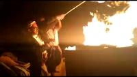تعز.. حفيد النعمان يوقد شعلة الذكرى الـ57 لثورة سبتمبر المجيدة في مدينة التربة