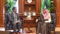 """الجبير يبحث مع رئيس البعثة الأممية """"جوها"""" مستجدات الساحة اليمنية"""