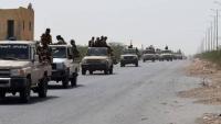 وصول تعزيزات عسكرية للقوات الحكومية إلى أبين