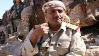 مصدر عسكري ينفي إذن قيادة محور تعز للعميد الحمادي بزيارة عدن