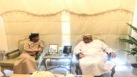 وكيل محافظة المهرة كلشات يبحث مع الهيئة العمانية تمويل مشاريع جديدة