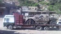 الإمارات تسحب آليات عسكرية من كتائب أبو العباس واللواء 35 مدرع في تعز