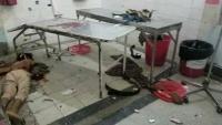مسلحون يقتحمون مشفى الثورة بتعز ويصفون جريحا ويصيبون شخصين