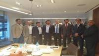 لاستئناف الإنتاج والتصدير.. محافظ شبوة يلتقي عددا من مدراء الشركات النفطية بالقاهرة