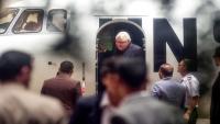 جريفيث يصل صنعاء للقاء ممثلي الحوثيين