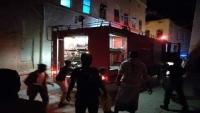 مواطن يحرق منزله في حضرموت تحت تأثير الكحول
