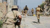 الجيش الوطني يعلن مقتل ثمانية حوثيين وإصابة 11 في كمين شرق تعز