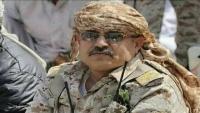 """قيادة محور تعز تحمل """"الانتقالي"""" مسؤولية احتجاز العميد المجيدي في مدخل عدن"""