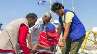 الهجرة الدولية تجلي 131 لاجئاً صومالياً من اليمن إلى بلادهم
