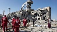 """ذمار.. جماعة الحوثي تدفن 71 جثة لـ""""محتجزين"""" قتلوا في قصف قبل ثلاثة أشهر"""