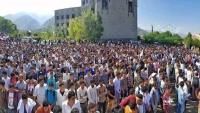 تشييع مهيب لرئيس اتحاد طلاب جامعة تعز