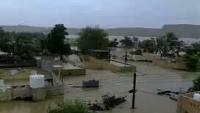 """""""هادي"""" يوجه بسرعة إصلاح الأضرار التي خلفها إعصار """"بافان"""" في سقطرى"""