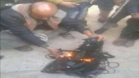 إحراق الحوثيين لأحزمة البالطوهات في صنعاء.. ردود منددة وانتقادات لتعامل النشطاء