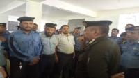 قيادة شرطة تعز تشدد على ضرورة رفع الحس الأمني لدى منتسبي شرطة السير