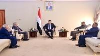 الحكومة تؤكد على وضع حد لسياسات الحوثيين التدميرية للاقتصاد