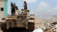 مقتل ثلاثة من عناصر الحوثي في مواجهات مع الجيش غربي تعز