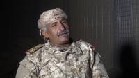 قائد عسكري يدعو الضباط بمناطق الحوثي للمشاركة في معركة استعادة الجمهورية
