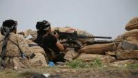 مقتل قيادي حوثي بنيران الجيش الوطني غربي تعز