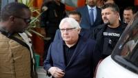 غريفيث يغادر صنعاء عقب بحثه خفض التصعيد مع زعيم الحوثيين
