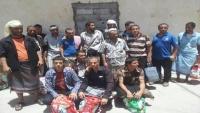 جماعة الحوثي تعلن تحرير سبعة من أسراها في صفقة تبادل مع الحكومة