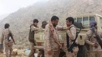 معارك عنيفة بين قوات الجيش وجماعة الحوثي بمحافظة البيضاء