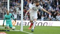 ريال مدريد يفوز بديربي العاصمة ويعزز صدارته لليغا