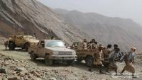 أبين.. الحوثي يحشد تعزيزات إلى جبهة ثره والجيش يصد هجمات الجماعة
