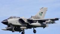 التحالف يعترف بسقوط طائرة حربية تابعة له في اليمن