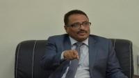 """وزير النقل: عناصر من """"الانتقالي"""" اقتحمتديوان الوزارة بعدن"""