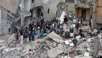"""""""الأورومتوسطي"""" يطالب بتحقيق في استهداف مدنيين بغارة للتحالف في اليمن"""