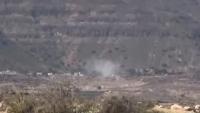 مقتل مواطن وإصابةآخر بقصف حوثيفي الضالع