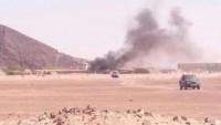 صاروخ حوثي يستهدف غرفة العمليات الحربية بمأرب