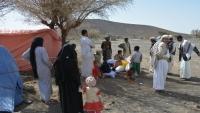 إدارة مخيمات النازحين تحذر من كارثة إنسانية جراء التصعيد العسكري بالجوف