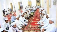 خطيب مسجد في حضرموت يدعو للتعبئة العامة والنفير لمواجهة الحوثيين