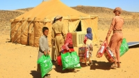 رشفة ماء مقابل بندقية كلاشنكوف.. قصص مؤلمة لنازحين في صحراء الجوف (تقرير)