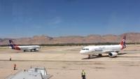"""طائرة """"اليمنية"""" تعود إلى مطار سيئون بعد منع هبوطها بمطار جدة"""