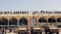 """مليشيات """"الانتقالي"""" تواصل انتشارها في محيط مطار عدن"""