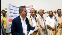 مشايخ ووجهاء محافظة إب يطالبون هادي ونائبه بتعيين محافظ للمحافظة