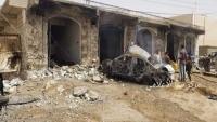 الحكومة تدين استمرار جماعة الحوثي بقصف المدنيين في مأرب