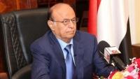 هادي يطلع على الأوضاع في مأرب ويشيد بجهود السلطة المحلية